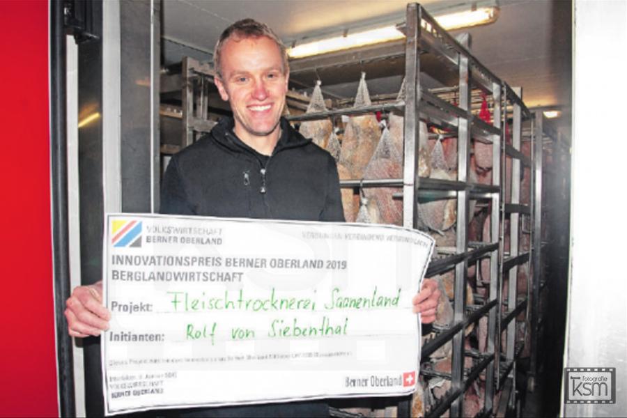 Kerem S. Maurer - Journalismus - Anzeiger von Saanen - Innovationspreis Trockenfleisch 2020