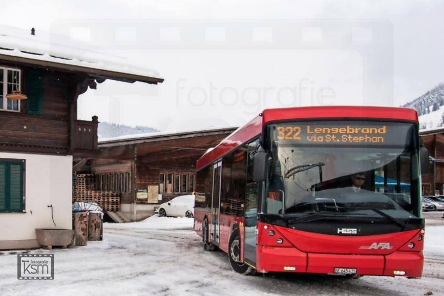 Kerem S. Maurer - Journalismus - Berner Oberländer - Skibus St. Stephan erfolgreich gestartet